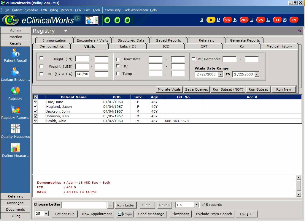 eClinicalWorks EHR Software EHR and Practice Management Software