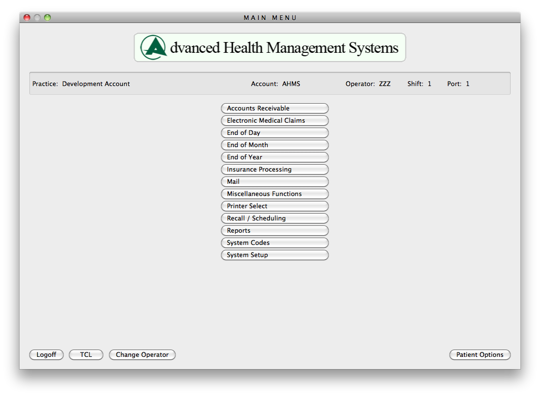 Advanced Health Management System (AHMS) EHR and Practice Management Software