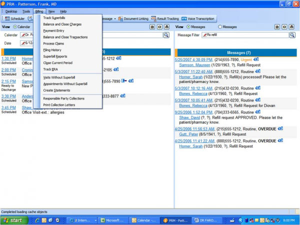 Aprima EHR Software EHR and Practice Management Software