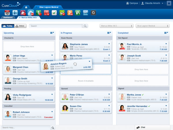 CareCloud EHR Software EHR and Practice Management Software