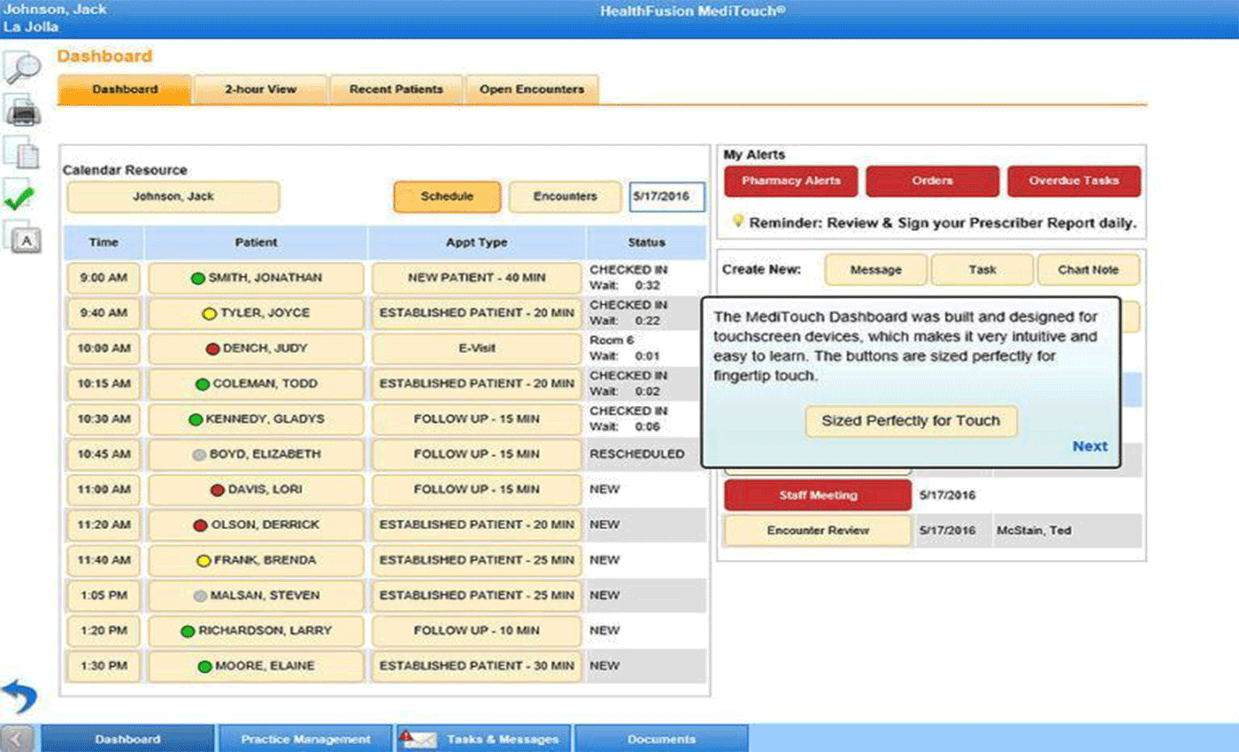 MediTouch EMR Software EHR and Practice Management Software
