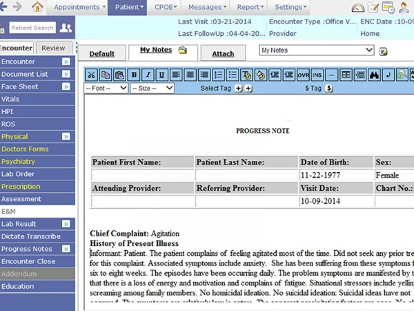 PrognoCIS EHR Software EHR and Practice Management Software