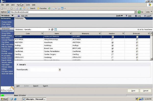 TouchWorks EHR Software EHR and Practice Management Software