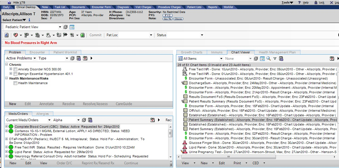 TouchWorks EHR Software EHR and Practice Management Software