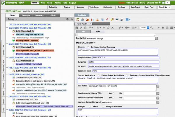 e-Medsys EHR Software EHR and Practice Management Software
