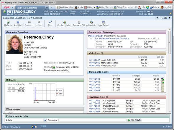 Epic EMR Software EHR and Practice Management Software