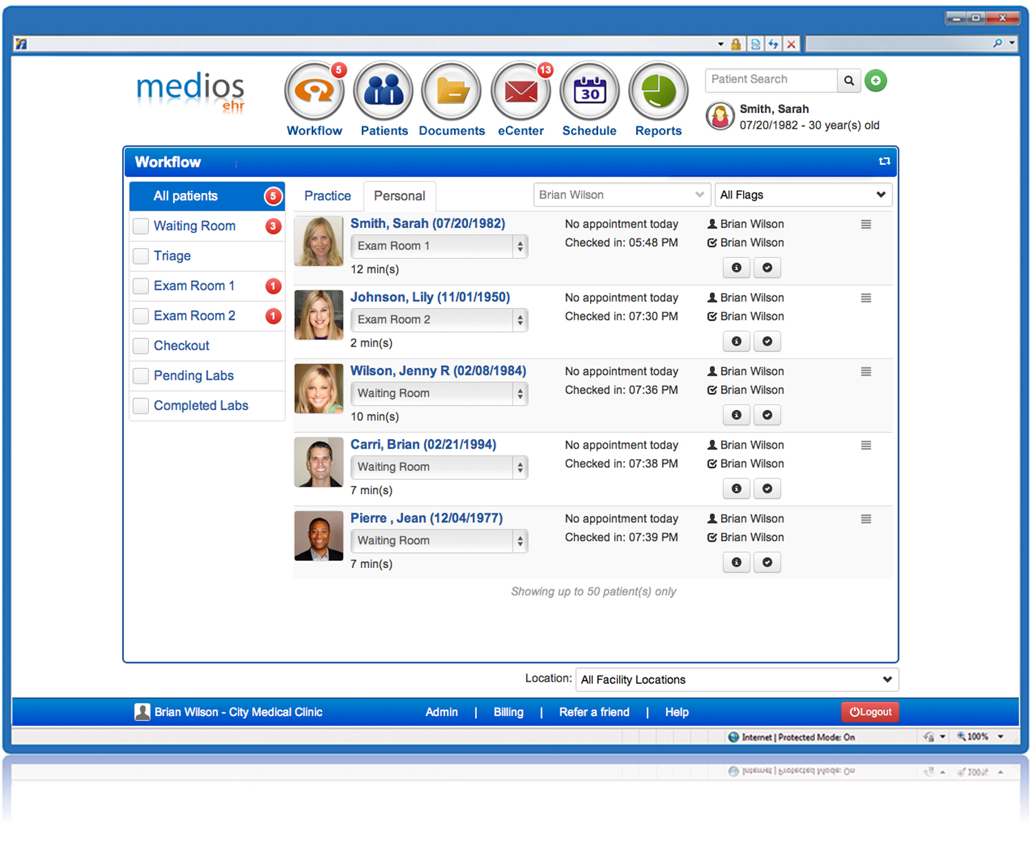Medios EHR Software EHR and Practice Management Software