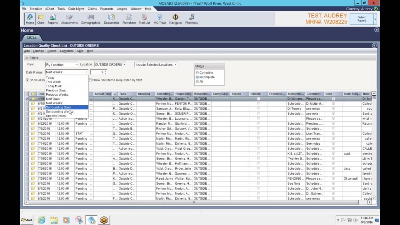 MOSAIQ EMR Software EHR and Practice Management Software