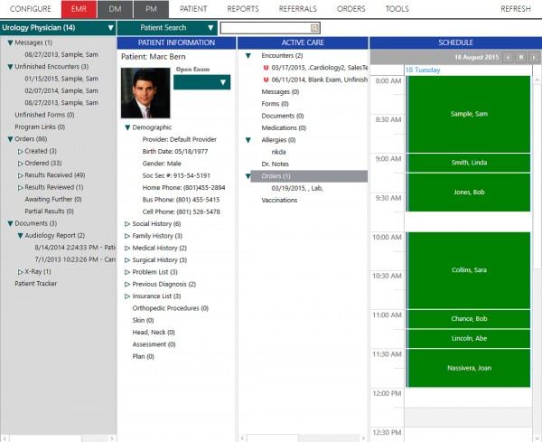 ChartLogic EHR Suite and Patient Portal