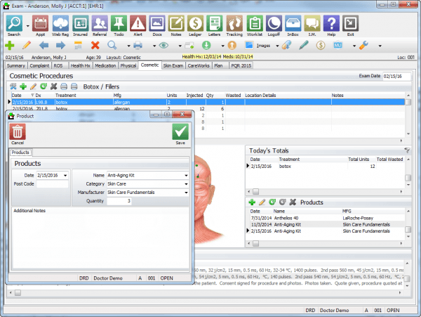 Compulink Dermatology Advantage EMR Software EHR and Practice Management Software