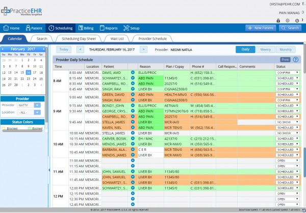 Practice EHR Software EHR and Practice Management Software