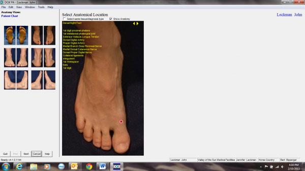 DOX Podiatry EMR Software EHR and Practice Management Software