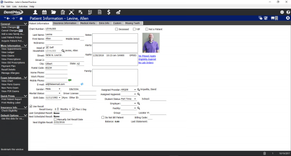 DentiMax EMR Software EHR and Practice Management Software