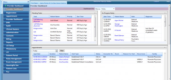 EnableDoc EMR and practice managemenet Software