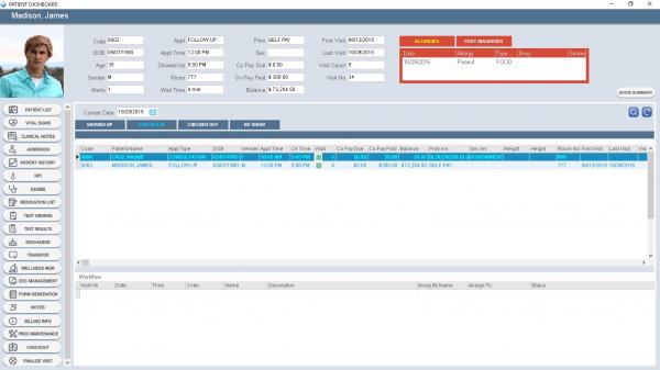MedEZ EMR and practice management Software
