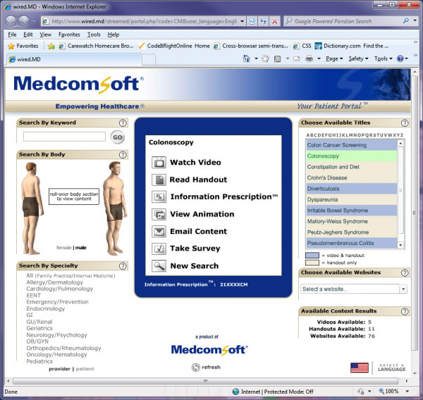 MedcomSoft EMR and practice management Software