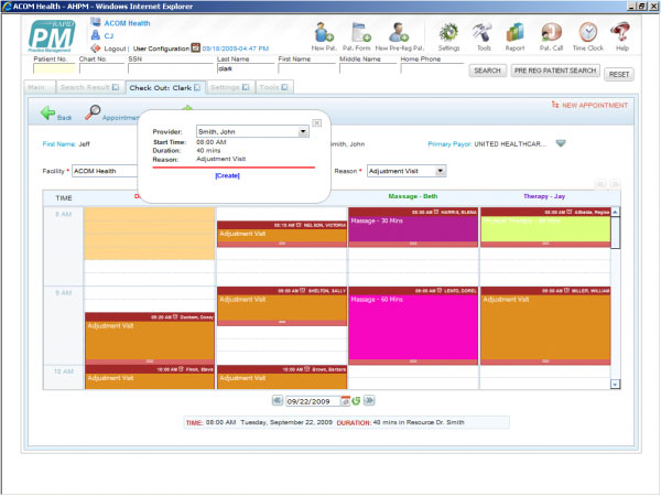 RAPID EHR Software by ACOM Health EHR and Practice Management Software