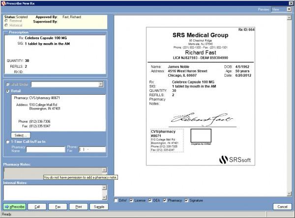 SRS EHR Software EHR and Practice Management Software