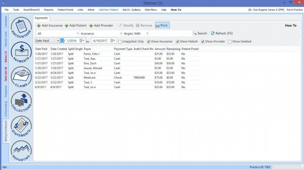 TRAKnet EHR Software EHR and Practice Management Software