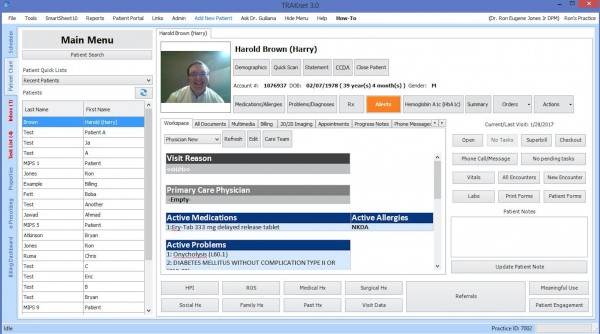 TRAKnet EHR Software EHR and Practice Management Software