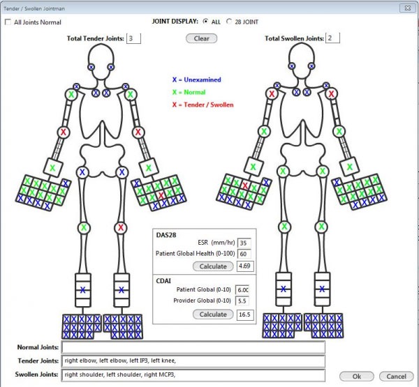 TSI Healthcare rheumatology EHR and practice managemenet Software