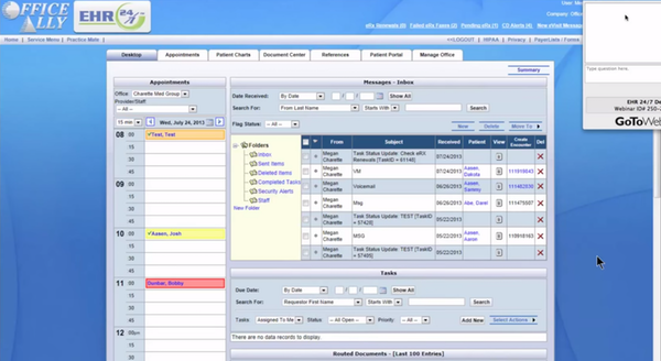 EHR 24-7 Software EHR and Practice Management Software