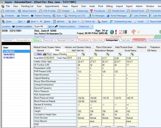 AdvantaChart EMR Software EHR and Practice Management Software
