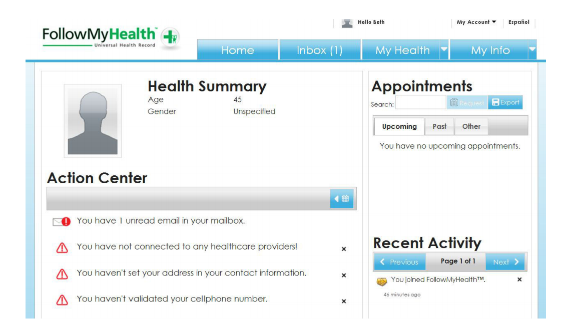 Allscripts FollowMyHealth EHR and practice management Software