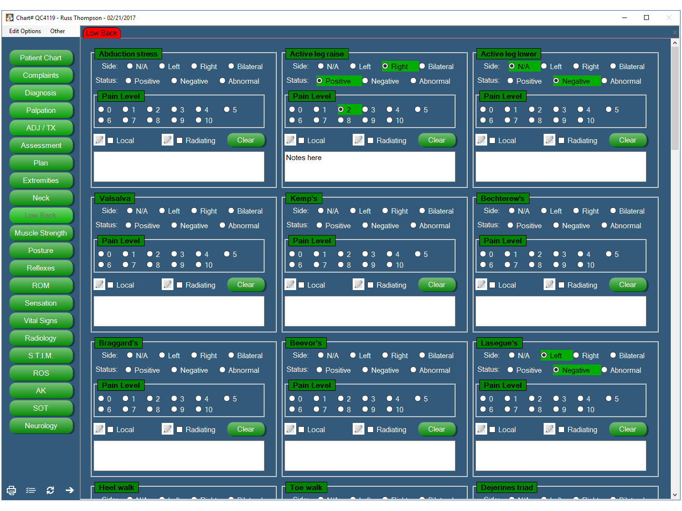 Chiro QuickCharts EHR Software EHR and Practice Management Software