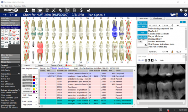 DentiMax Practice Management System EMR and practice management software