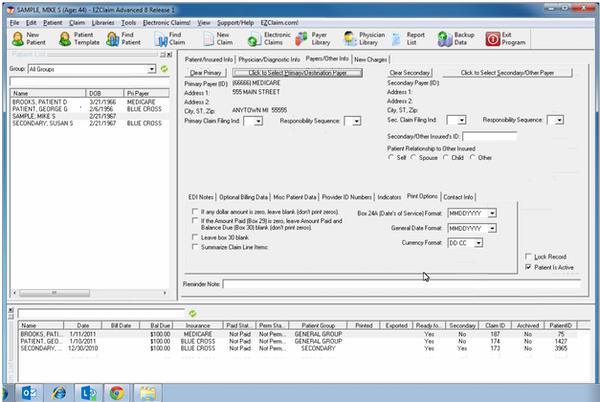 EZClaim Medical Billing Software EHR and Practice Management Software