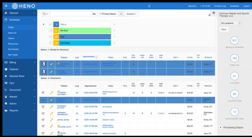 HENO EMR Software EHR and Practice Management Software