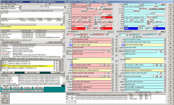 Medflow Ophthalmology EMR Software EHR and Practice Management Software