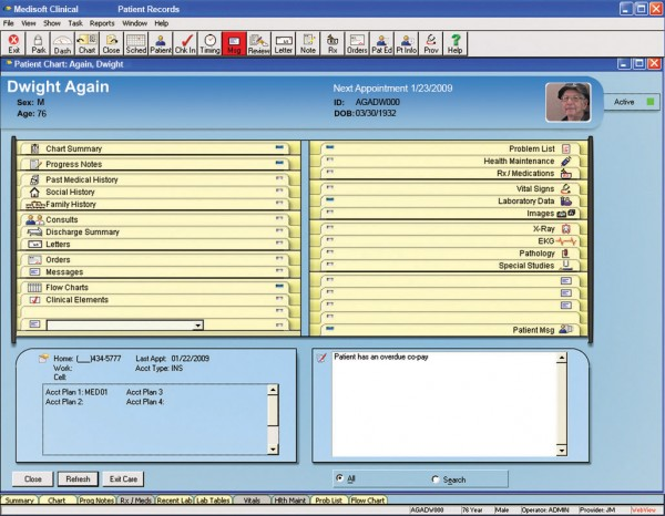 Medisoft Clinical EHR and Practice Management Software