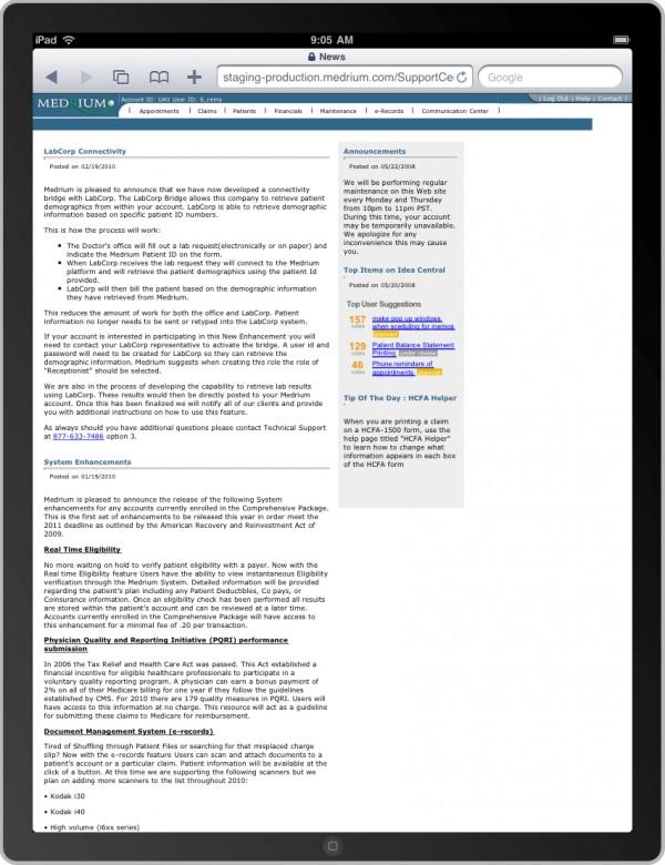 Medrium Complete Practice Management Software EHR and Practice Management Software