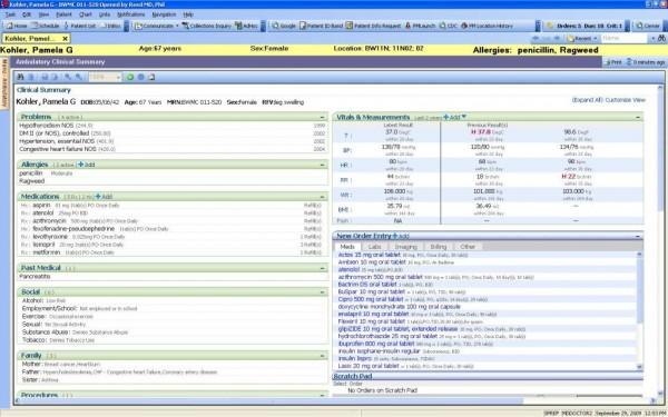 Cerner Specialty Practice Management Software EHR and Practice Management Software