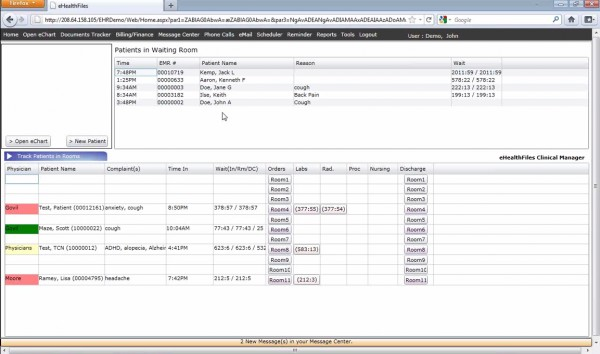 eHealth Files EHR Software EHR and Practice Management Software