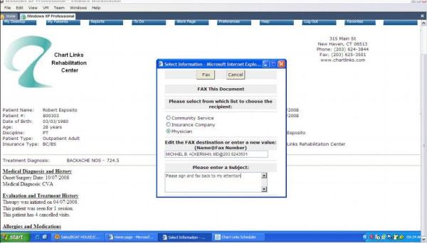 Chart Links EMR Software EHR and Practice Management Software