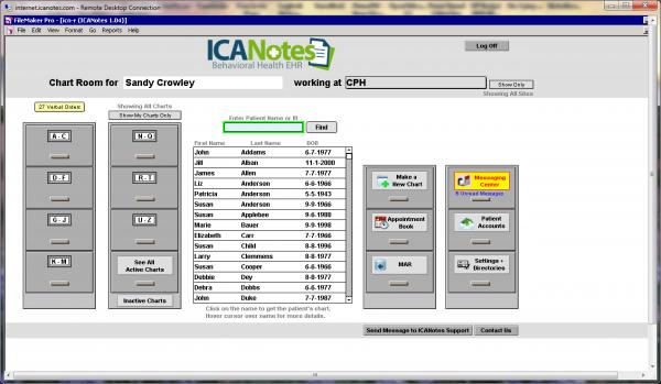 ICANotes EMR Software EHR and Practice Management Software