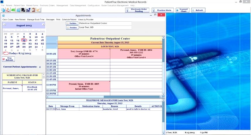 PatientTrac EMR Software EHR and Practice Management Software