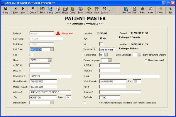 RISynergy Software EHR and Practice Management Software
