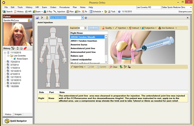 Phoenix Ortho EHR Software EHR and Practice Management Software