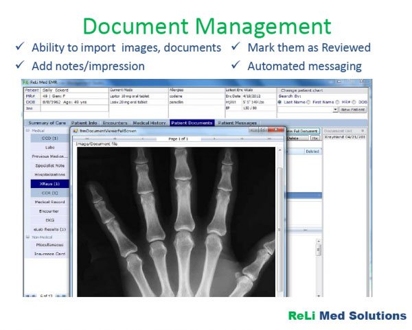 ReLi Med EMR Software EHR and Practice Management Software
