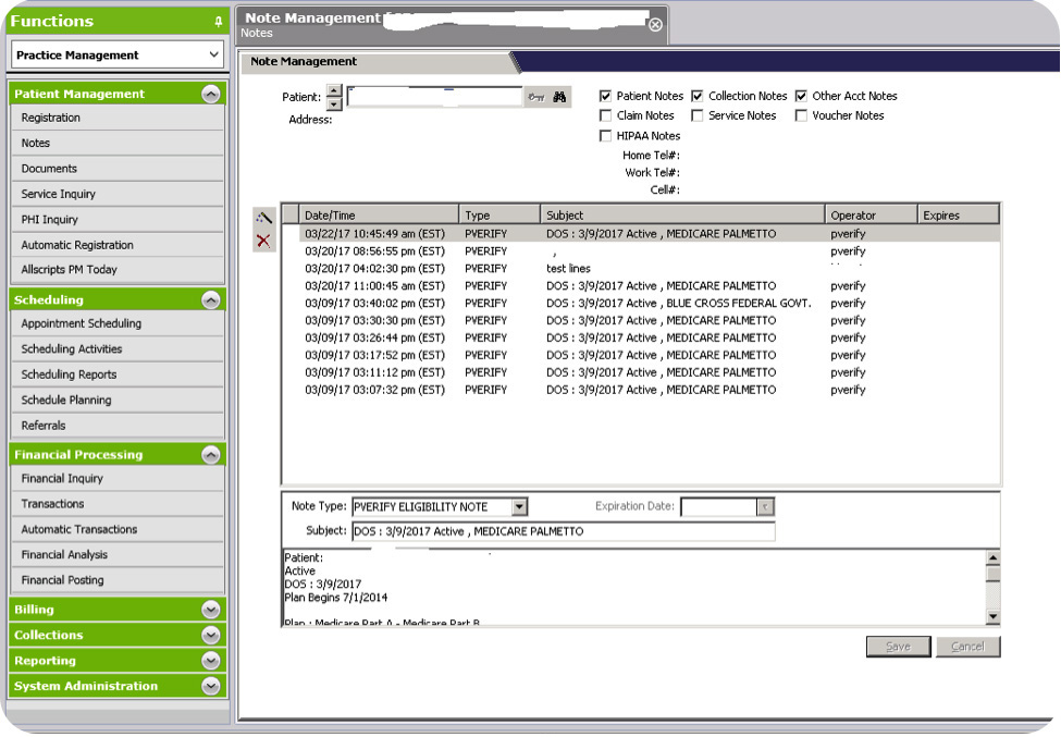 Allscripts Professional EHR Software EHR and Practice Management Software