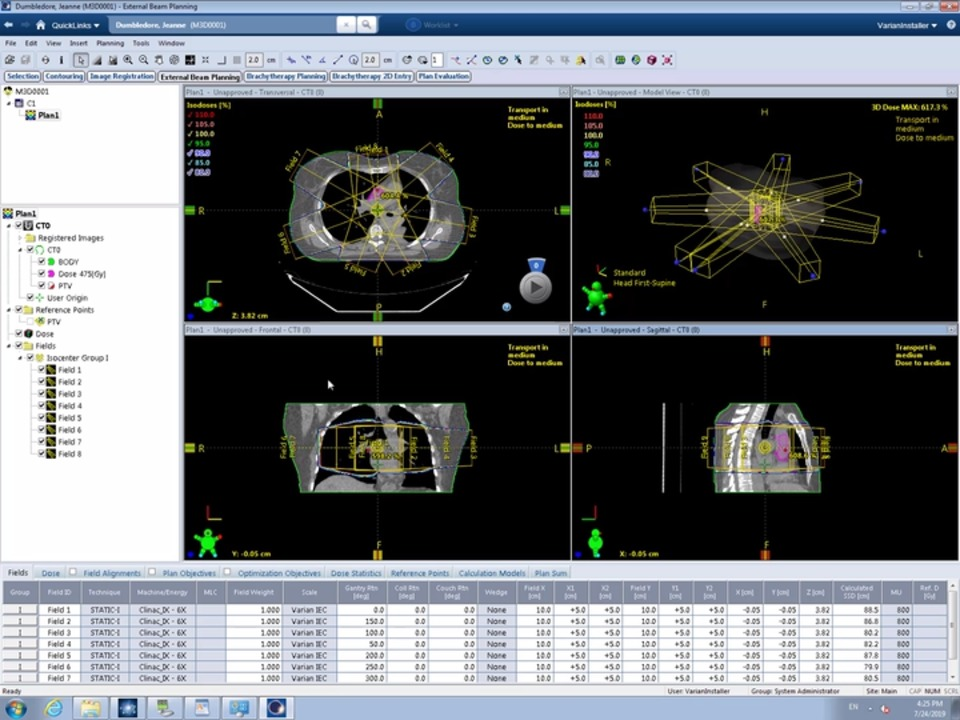 ARIA® Oncology Information System EHR and Practice Management Software
