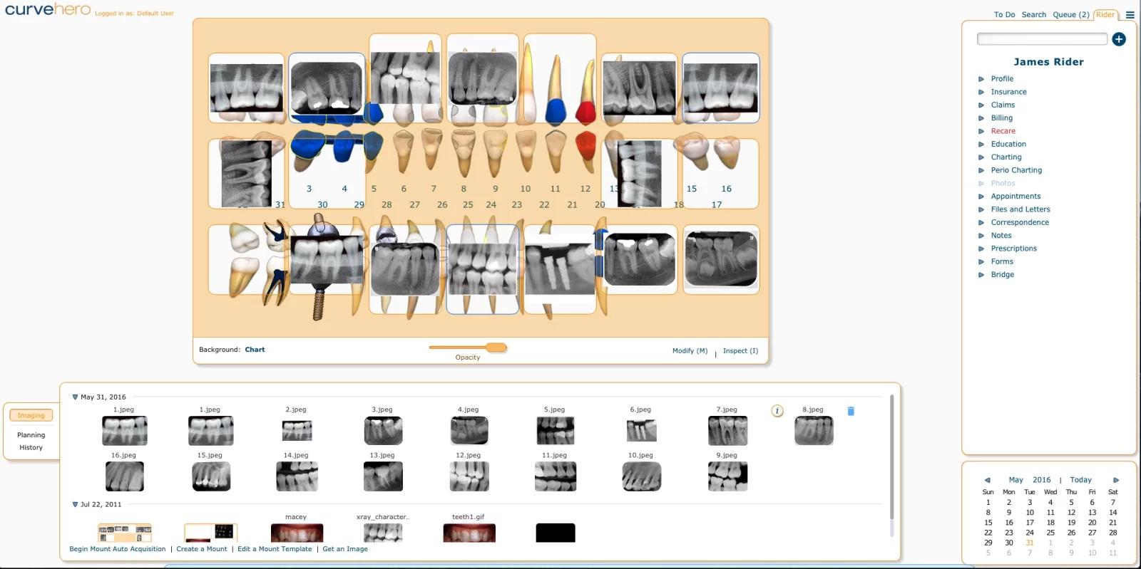 Curve Dental EMR Software EHR and Practice Management Software