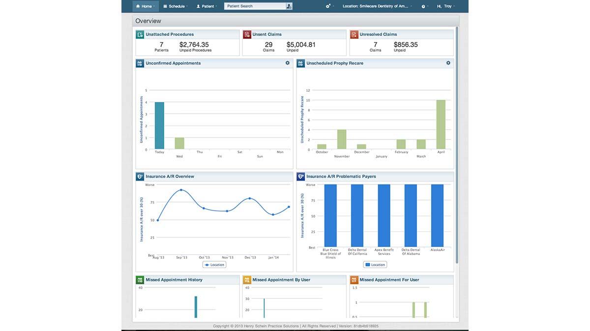 Dentrix Ascend Software EHR and Practice Management Software