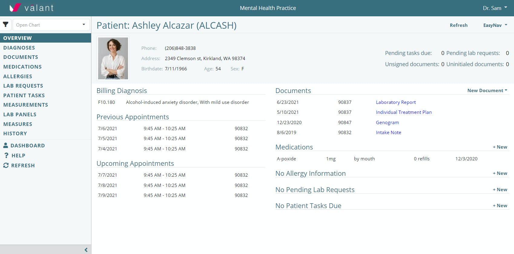 Valant EMR Software EHR and Practice Management Software