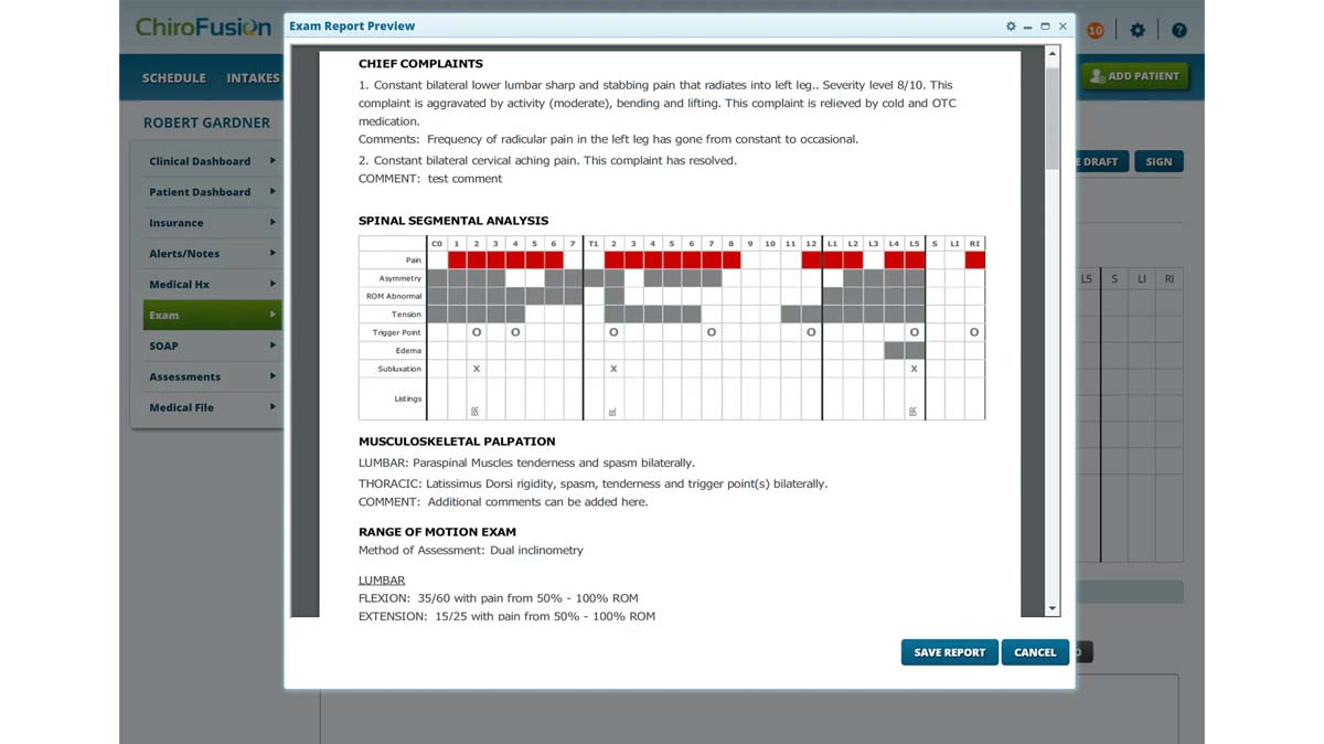 ChiroFusion EMR Software EHR and Practice Management Software