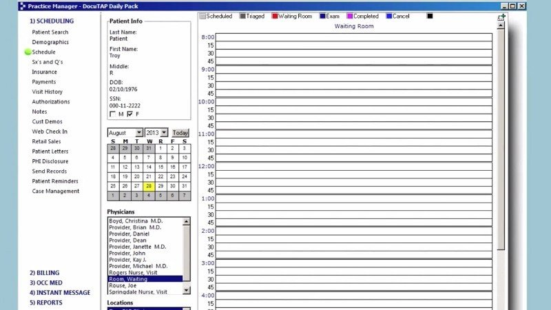 DocuTAP EMR Software EHR and Practice Management Software